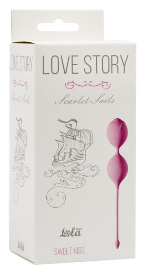 Вагинальные шарики Love Story Scarlet Sails Sweet Kiss